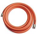 "Sani-Lav® H253 Wash Down Hose, 3/4"" MGHT Swivel x FGHT, Stainless Steel, Safety Orange - 25'"