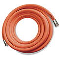 "Sani-Lav® H753 Wash Down Hose, 3/4"" MGHT Swivel x FGHT, Stainless Steel, Safety Orange - 75'"