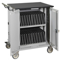 Datum Mobile Storage & Charging Cart for 32 Tablets with Advanced Timer
