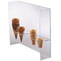 Dispense-Rite® 5 Section Cone Stand with Shield