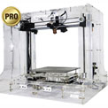 3D Printer, Evolution Gen 2 Pro, Transparent Casing