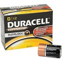 Duracell® Coppertop®  D Batteries W/ Duralock Power Preserve™ - Pkg Qty 12