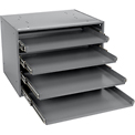 Durham Heavy Duty Bearing Rack 303B-15.75-95 - For Large Compartment Storage Boxes - Four Drawer