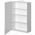 First Aid Cabinet 4-Shelf - 15x5-9/16x22