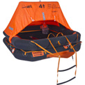 Sea Safe 6 Person Pro-Light Offshore Raft In Container 1/Case - DXPL6CR