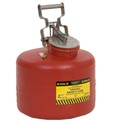 Eagle Disposal Can Poly - Red - 3 Gallons, 1519