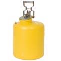 Eagle Disposal Can Poly - Yellow - 5 Gallons, 1521