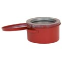 Eagle Bench Can - Metal - Red - 1 qt., B-601