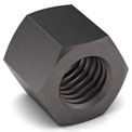 1/2-20 Hex Hi Nut - 3/4 x 11/16 - Grade 8 - Carbon Steel - Plain - Fine - Pkg of 25