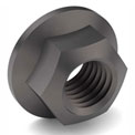 5/8-11 NE Hex Flange Lock Nut - Grade G - Carbon Steel - Phos & Oil - Coarse - Pkg of 20
