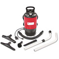 Sanitaire® 1-1/2 Gallon HEPA Commercial Backpack Vacuum, Red - EUKSC412A