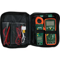 Extech TK430 Electrical Test Kit, Orange/Green, Case Included, AC Capable