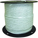 "Field Guardian™ White Polyrope Economy 631833 - 1/4""W Dia. 656 Foot Length"