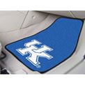 "University of Kentucky - 2 Piece Carpeted Car Mat Set 17""W x 27""L - 5451"