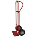 Milwaukee Heavy Duty Hand Truck 44701 - P-Handle - Solid Rubber Wheels - 1000 Lb. Capacity - Red