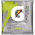 Gatorade GTD03969 -  Instant Powder, Lemon Lime, 21 Oz. Package, Makes 2-1/2 Gallons, 32/Case