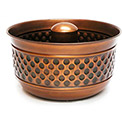 "Good Directions 440VB, Montego Hose Pot, Venetian Bronze, 17""D"