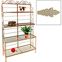 """French Bow Rack - No Tips 48""""W (Stone)"""