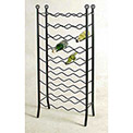 Wine Rack 36 Bottle (Satin Black)