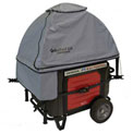 GenTent GT10KXKUGB, 10k Stormbracer Safety Canopy for Inverter Generators 3000W & Up, Grey