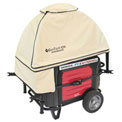 GenTent GT10KXKUTB, 10k Stormbracer Safety Canopy for Inverter Generators 3000W & Up, Tan
