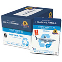 Punched Copy Paper – Hammermill HAM86702 - White - 8-1/2 x 11 - 20 lb. - 5000 Sheets/Carton