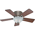 "Hunter Fan Conroy 42"" Indoor Ceiling Fan 51024 - Antique Pewter"