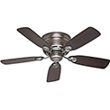 "Hunter Fan Low Profile® IV 42"" Indoor Ceiling Fan 51060 - Antique Pewter"