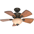 "Hunter Fan Watson 34"" Indoor Ceiling Fan 52090 - New Bronze"
