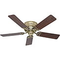 "Hunter Fan Low Profile® III 52"" Indoor Ceiling Fan 53070 - Hunter Bright Brass Finish®"