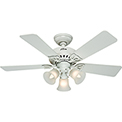 "Hunter Fan Beacon Hill™ 42"" Indoor Ceiling Fan 53081 - White"