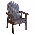 highwood® Hamilton Deck Chair, Weathered Acorn