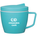 Custom Food Containers, 14 Oz. Thermal Mug w/Spoon And Fork Set