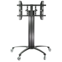 "TygerClaw LCD8501 Mobile TV Stand for 32""-55"" TVs - Black"