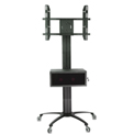 "TygerClaw LCD8503 Mobile TV Stand for 30""-60"" TVs - Black"