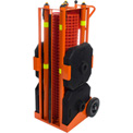 IRONguard PSZ-SLM Portable Safety Zone, 100' Safety Orange Fencing w/ Free LED Light Package