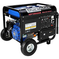 DuroMax XP10000E Gas Generator W/Electric Start & Wheel Kit, 10,000W, 16.0HP