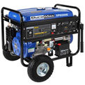 DuroMax XP8500E Gas Generator W/Electric Start & Wheel Kit, 8500W 16.0HP