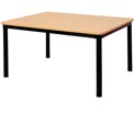 """Square Library Table - 36""""W x 36""""D x 29""""H Amber Ash"""