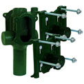 """Josam 12724-OR Back-to-Back, Vertical, 2"""" Vent, No-Hub, O-Ring Type Water Closet Carrier"""