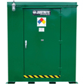 Justrite Agri-Turf™ Outdoor Chemical Storage Building 914120 - 387-Cu Ft