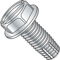 1/4-20 x 3/8 Slotted Ind. Hex Washer Thread Cutting Screw - Full Thread - Zinc - Pkg of 5000