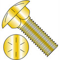 3/8-16X4  Carriage Bolt Grade 8 Fully Threaded Zinc Yellow, Pkg of 275