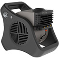 Lasko 7050 Misto® Outdoor Misting Fan, 3-Speed, 110V, Black