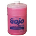 Gojo Thick Pink Antiseptic Lotion Soap Floral, Gallon Bottle 4/Case - GOJ1845