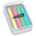 Promotional Mini Brite Spots Highlighters - Four Pack