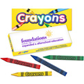 Promotional Quality Crayons - Pack of Four