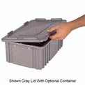 LEWISBins Heavy Duty Snap-On Cover 1000 Series CDC1040, Gray