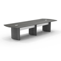 Mayline® 12' Conference Table - Gray Steel - Medina Series