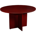 "Mayline® 42"" Round Conference Table Cherry - Luminary Series"